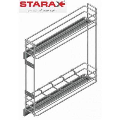 Механизъм за бутилки с плавно прибиране 100% изтегляне - STARAX - Цена: 54.00 лв.