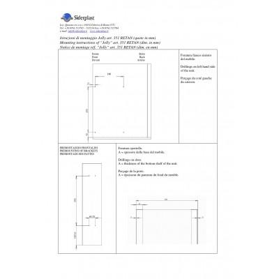 Бутилиера за горен ред с плавно SIDERPLAST/Hettich - Цена: 99.00 лв.
