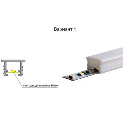 PVC Профил за LED лента за вкопаване - 2,20 м. - Цена: 8.10 лв.