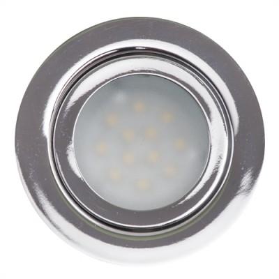 Мебелна LED луна за вграждане неутрална 12VDC 3W - Цена: 12.00 лв.