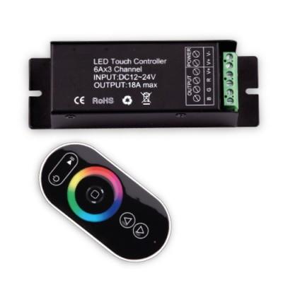 RF TOUCH контролер за RGB светодиодно осветление 216W - Цена: 40.50 лв.