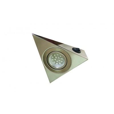 LED триъгълна луна с ключ -INOX - Цена: