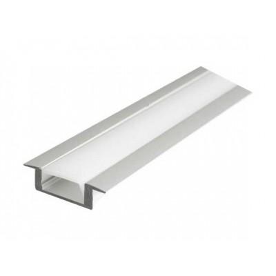 Алуминиев профил за LED лента за вкопаване - Цена: 13.20 лв.