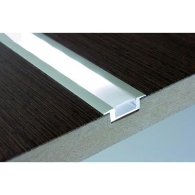 Алуминиев профил за LED лента за вкопаване - Цена: 4.20 лв.