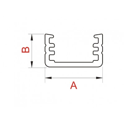 Алуминиев LED профил СЛИМ (A) (Z) - Цена: