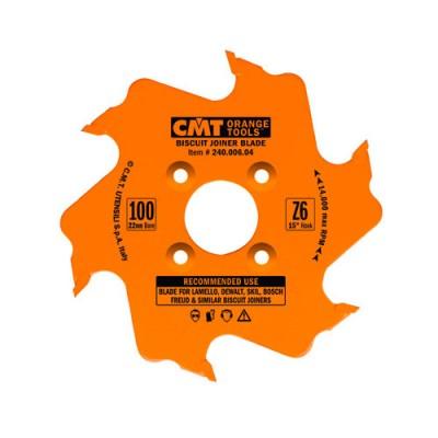 Нут за ферза с твърдосплавни пластини CMT 100/3.96/22 Z=6 - Цена: 43.80 лв.