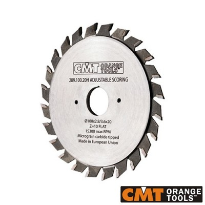 Диск подрезвач с твърдосплавни пластини CMT 120/2.8-3.6/22 Z=12+12 - Цена: 142.32 лв.