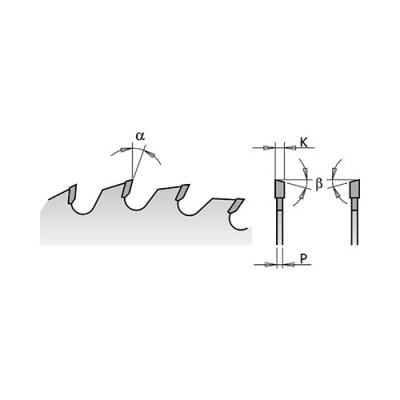 Диск с твърдосплавни пластини CMT 250/3.2/30 Z=80 - Цена: 121.38 лв.