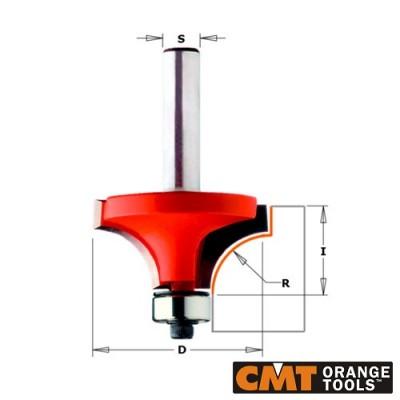 Радиусов фрезер CMT D=31.7мм L=57мм I=14мм R=9.5мм S=8мм Z=2 - Цена: 68.82 лв.
