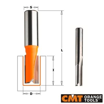 Прав фрезер CMT D=13мм I=20мм L=57мм S=8мм Z=2 - Цена: 36.00 лв.
