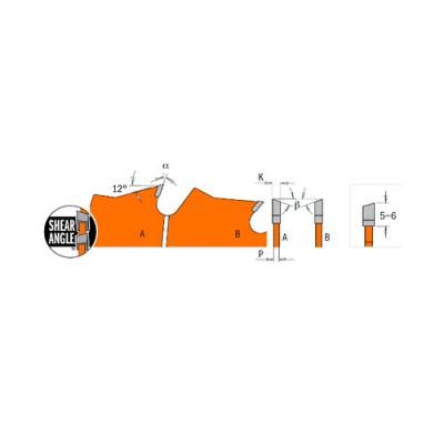 Диск с твърдосплавни пластини CMT 200/1.8/30 Z=36 - Цена: 55.20 лв.