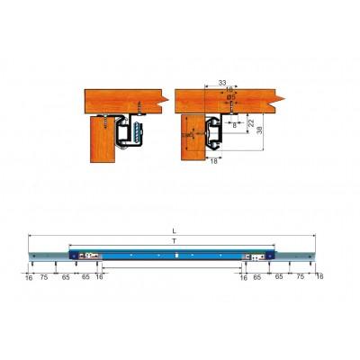 Механизъм за плъзгаща маса - Цена: 21.60 лв.