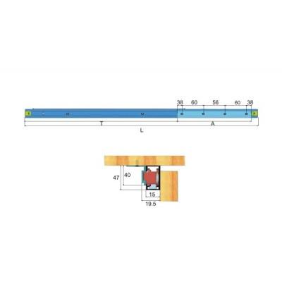 Механизъм за плъзгаща маса ЕМТ - Цена: 33.60 лв.