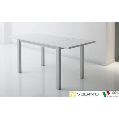 Маса,разтегателна ,цвят алуминий - VOLPATO ITALY - Цена: 588.96 лв.