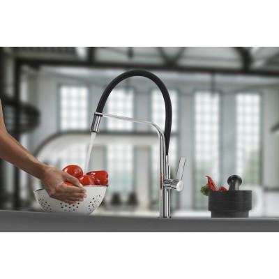 Кухненски смесител с керамична глава FO 997 бял / черен - TEKA - Цена: 444.90 лв.