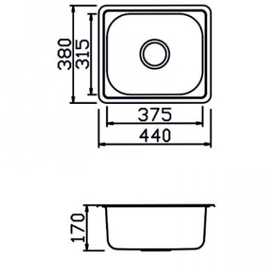 Мивка М-306 - Цена: 55.50 лв.