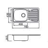 Мивка с плот М-509 - Цена: 85.20 лв.