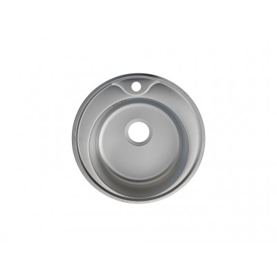Мивка обла с дупка за смесител - Цена: 102.00 лв.