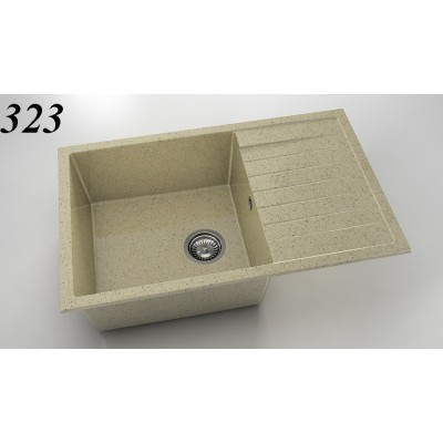 Мивка 228 - граниксит с ляв/десен плот FAT - Цена: 322.80 лв.