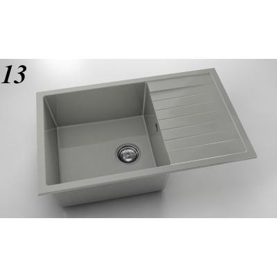 Мивка 228 - полимермрамор с ляв/десен плот FAT - Цена: 225.60 лв.