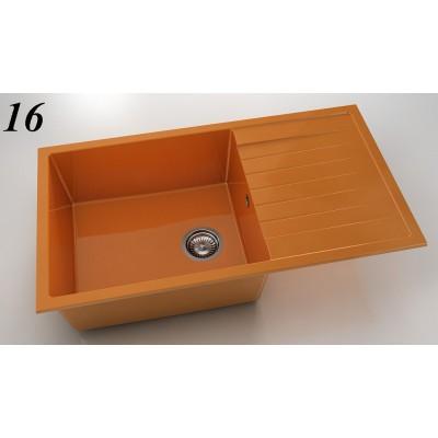 Мивка 229 - полимермрамор ляв/десен плот FAT - Цена: 235.50 лв.
