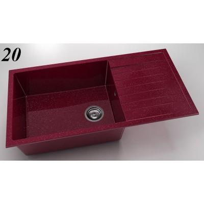 Мивка 230 - полимермрамор ляв/десен плот FAT - Цена: 241.80 лв.