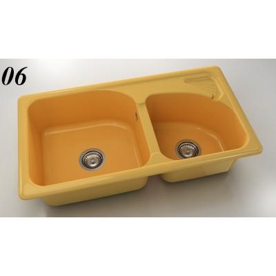 Мивка 204 - полимермрамор FAT - Цена: 234.60 лв.