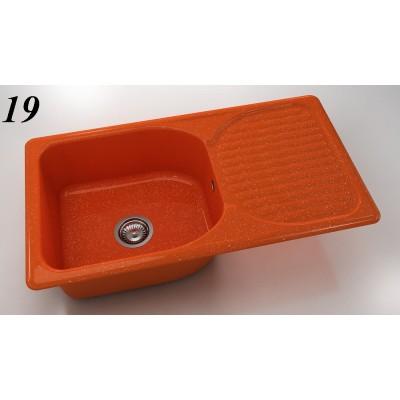 Мивка 211 - полимермрамор FAT ляв/десен плот - Цена: 216.00 лв.