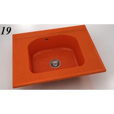 Модулна мивка 218 - полимермрамор FAT - Цена: 225.60 лв.