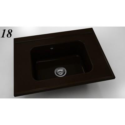 Модулна мивка 219 - полимермрамор FAT - Цена: 225.60 лв.