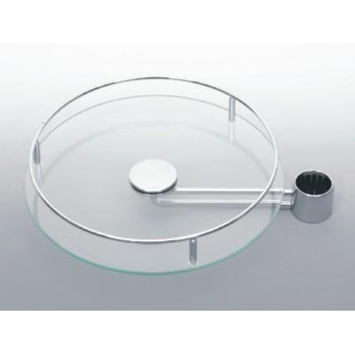 Кръгла полица стъкло изнесена - Цена: 72.00 лв.
