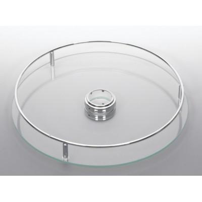 Кръгла полица стъклена - Цена: 45.60 лв.