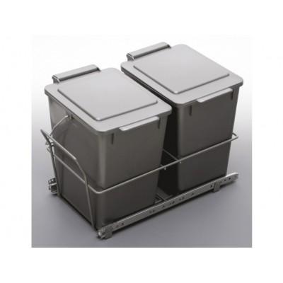 Кош за отпадъци - двоен - Цена: 58.80 лв.