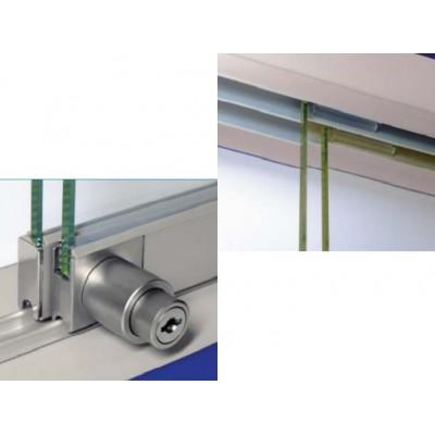 Механизъм стъклени плъзгащи врати #2010 - Цена: 8.10 лв.