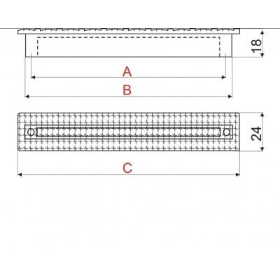 Мебелна дръжка 888E - Цена: 7.20 лв.