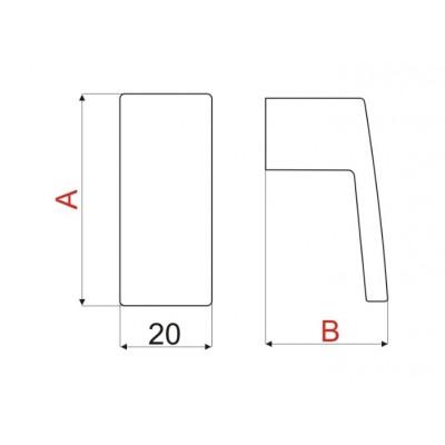 Мебелна дръжка GS24 - GAMET - Цена: 3.60 лв.
