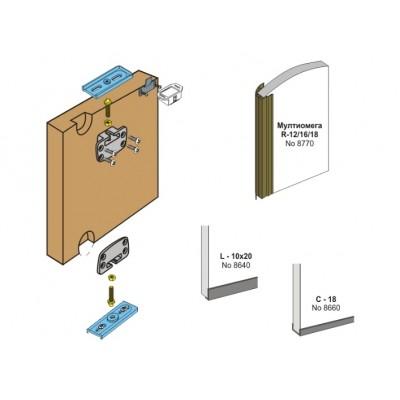 Механизъм за чупещи интериорни врати ОПЕН - Laguna - Цена: 45.00 лв.
