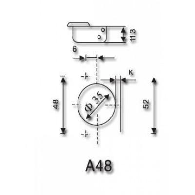 Панта с вграден успокоител и 3D IVENTO - средно рамо - Цена: 2.04 лв.