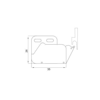 Механизъм за пуш бутон - Цена: 0.60 лв.