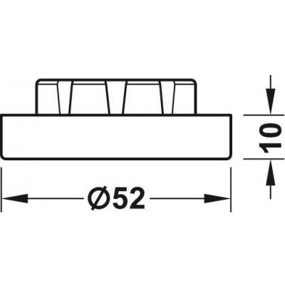 Адаптор за крак AXILO™ 78 за височина +10 мм - HAFELE - Цена: 1.10 лв.