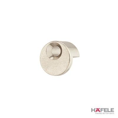 Носач за огледало, кръгъл, с гума, никел полиран - HAFELE - Цена: 0.77 лв.