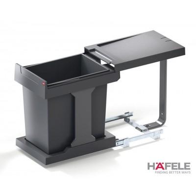 Кофа за отпадък, капацитет 20 L, изтегляне с ръка - HAFELE - Цена: 154.22 лв.
