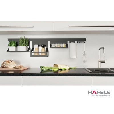Система за кухненски аксесоари за стена L=1200 мм - HAFELE - Цена: 177.36 лв.