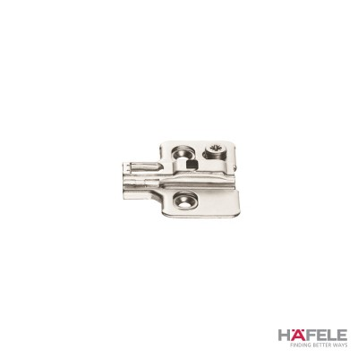Монтажна пластина Metalla SM, с-ма за бърз монтаж, 4 мм - HAFELE - Цена: 0.47 лв.