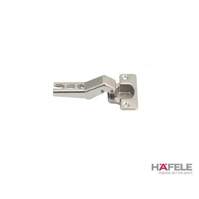 Мебелна панта Metallamat A изхвърляща за ъгъл на врата спрямо страница 135° (+45°), ъгъл на отв. 92° - HAFELE - Цена: 4.28 лв.