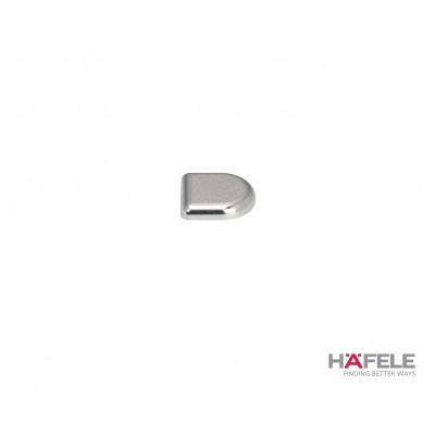 Покривна декоративна капачка, овална, хром полиран - HAFELE - Цена: 3.34 лв.