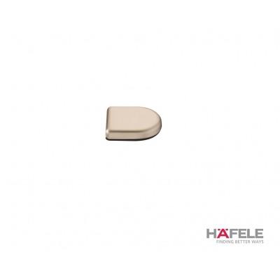 Покривна декоративна капачка, овална, никел полиран - HAFELE - Цена: 3.54 лв.
