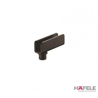 Мебелна панта за врата от стъкло, 110°,Simplex, черен мат - HAFELE - Цена: 1.82 лв.