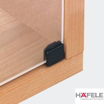 Мебелна панта за врата от стъкло, 90°, 20 мм, никел полиран - HAFELE - Цена: 2.52 лв.
