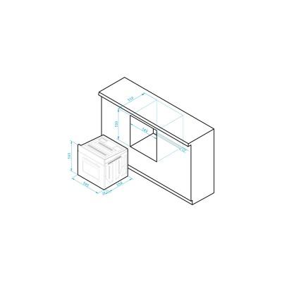 Φурна 60IN 1013 INOX - PYRAMIS - Цена: 391.80 лв.